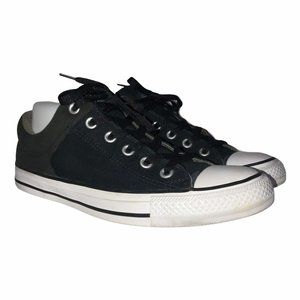 Converse All Star Black Sneakers M 8 W 10
